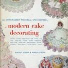 Homemaker's Pictorial Encyclopedia of Modern Cake Decorating Wilton Hardcover