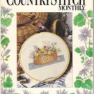 The Cross Stitch Monthly Summer 1988 Premiere Issue 16 Charts Strawberry Sampler