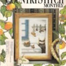 The Cross Stitch Monthly September 1988 14 Charts Thistle Sampler