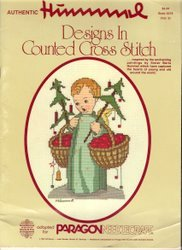 Authentic Hummel Designs Cross Stitch Pattern Book 5078 Vol. 2 Christmas Angels Christ Child