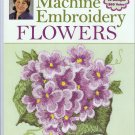 Donna Dewberry's Machine Embroidery Flowers Book & CD 18 English Garden Motif Designs 15+ Projects