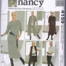 McCall's 4159 Sewing with Nancy Pattern Easy Knit Wardrobe Dress Duster Pants S M L XL Uncut