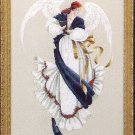 Lavender and Lace Victorian Designs Angel of Hope Cross Stitch Chart Pattern