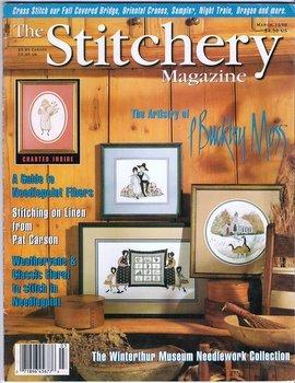 Cross Stitch Magazine The Stitchery P Buckley Moss Chart Dragon Sampler