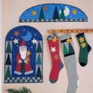 Santa's Magic Santa Claus Christmas Quilting Pattern Stockings Wallhangings