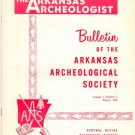 Arkansas Archeologist Archaeologist Bulletin 7 Number 4 Winter 1966 Excavations at Prall Shelter