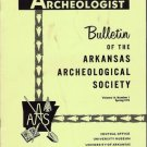 Arkansas Archeologist Bulletin 14 Number 1 Spring 1973 Catlinite Pipe Salt Petre Shelter Burial