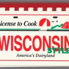 License to Cook Wisconsin Style Cookbook Juanita Loven Midwestern Recipes