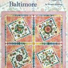 Romancing Baltimore Quilting Book Brenda Henning Stained Glass Applique Bear Paw Productions