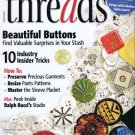 Threads Magazine 139 November 2008 Buttons Sleeve Plackets Resize Pants Patterns Tailoring Series