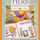 Herb Companion Magazine November 2006 Candles Seasonal Salsas Herb Scrapbooking Dog Aromatherapy