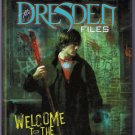 Jim Butcher Dresden Files Welcome to the Jungle Hardcover Graphic Novel
