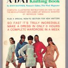 Knit-a-Dress-a-Day 1960s Vintage Quick Knitting Book 50 Dress and Sweater Designs