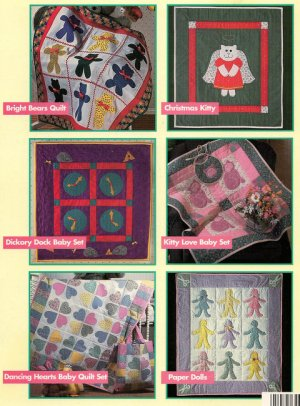 Quilts For Babies Quilting Pattern Booklet Six Designs by Cheryl Fall