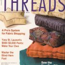 Threads Magazine 90 September 2000 Sew Yves St. Laurent's Pants No-Mark Quilting The New Box Pillow