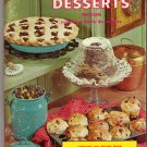 1966 Vintage Cookbook Favorite Recipes Great Plains Desserts 900 Recipes from Women's Club Leaders