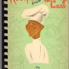 Recipes from the East 1950s Vintage Cookbook Chinese Japanese Hawaiian Phillipino Indian Russian