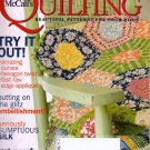 Quilting Magazine October 2008 Classic to Contemporary Quilt Projects 14 Patterns