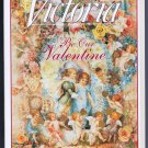 Victoria Magazine February 1994 Back Issue Valentine Buffet Baroque Violin Shop Clementines Sachets
