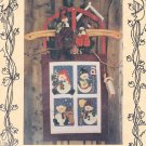 Snowkin Quilting Pattern Penstitch Applique Wall Quilt Snowmen Snowfolk Dolls