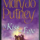 A Kiss of Fate Mary Jo Putney Large Print BCE Hardcover Paranormal Historical Romance