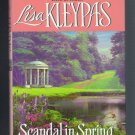 Scandal in Spring Lisa Kleypas BCE Hardcover Wallflowers Book 4 Regency Romance