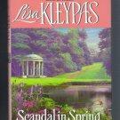 Scandal in Spring Lisa Kleypas BCE Hardcover Wallflowers Book 4 Regency Romance