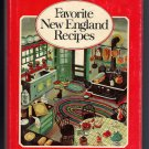 Favorite New England Recipes Cookbook 1973 YANKEE Magazine