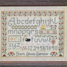 Black Sheep Sampler Cross Stitch Pattern Chart Elizabeth's Designs