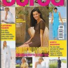 Burda World of Fashion Magazine June 1999 Sewing Patterns Uncut Misses Children