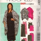 McCall's M5061 Sewing Pattern Womens Unlined Jacket Top Dress Skirt Pants Size 18W 20W 22W 24W Uncut