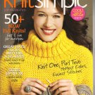 Knit Simple Magazine Fall 2010 Knitting Hats Socks Mittens Layettes 50+ New Fall Knit Projects