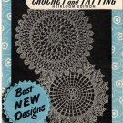 Crochet and Tatting Heirloom Edition Booklet Star Book Number 66 Edgings Doilies