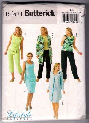 McCalls 2059 Vintage 60's Pattern Mod Dress Jumper Pants with