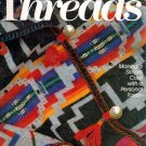 Threads Magazine No 49 Blanket Coats Serging Knitting Cording Crochet Fitting Jacket Shoulders