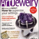 Art Jewelry Magazine Back Issue July 2011 Metalworking Polymer Clays Chain Mail Black Diamonds