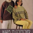 Indygo Junction Warm 'N Cozyover  S-XL Sewing Pattern Woman's Pullover Shirt
