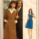 Vintage 1970s Nina Ricci Vogue Paris Original Sewing Pattern 1050 Size 14 Misses Dress Blouse Uncut