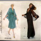 Vintage 1970s Bill Blass Vogue American Designer Sewing Pattern 1775 Size 14 Misses Halter Dress