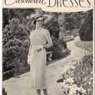 Vintage 1930s Crocheted Dresses Crochet Booklet Skirts Blouse Jackets
