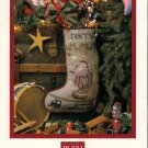 Harry's Stocking Christmas Cross Stitch Pattern Chart Leaflet Shepherd's Bush