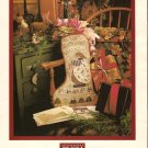 Teri's Stocking Christmas Cross Stitch Pattern Chart Leaflet Shepherd's Bush