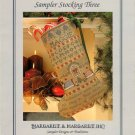 Sampler Stocking Three Christmas Cross Stitch Pattern Chart Leaflet Margaret & Margaret Inc.