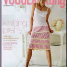 Vogue Knitting Spring Summer 2006 OOP Knitting Pretty Knitted Lace Crochet Beads Ribbons