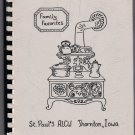 1985 St Paul American Lutheran Church Cookbook Thornton Iowa