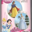 Simplicity 2813 Misses' Snow White Cinderella Costume Disney Princess Size 6 8 10 12 Uncut