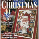 Cross Stitch Christmas Magazine 1994 Samplers Ornaments Quick Easy Gifts 40 Projects