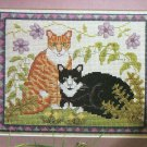 Needlecraft Magazine Cross Stitch Cats Corded Quilting Bobbin Lace 24 Projects Assisi Work Card Kit