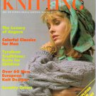 Stylish Knitting November 1986 Classics for Men Tyrolean Traditions Knits for Children Intarsia