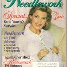 McCall's Needlework Magazine June 1994 Vanna White Sweater Ribbonwork Embroidery Quilting